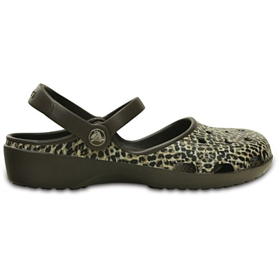 Crocs Karin Leopard Clog