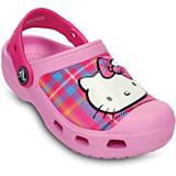 Crocs Hello Kitty Plaid Clog