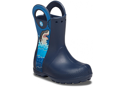 CrocsFL Shark Ptch Rain Boot B