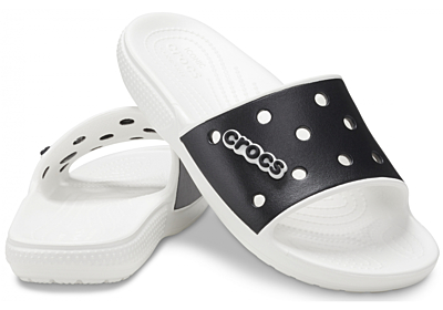 Classic Crocs Colorblock Slide