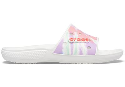 Classic Crocs Tie Dye Graphic Slide