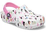 Crocs Classic Heart Print Clog K