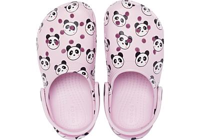 Crocs Classic Panda Print Clog K