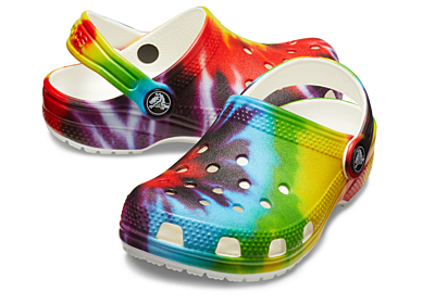 Classic Tie Dye Graphic Clog K