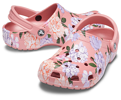Classic Printed Floral Clog
